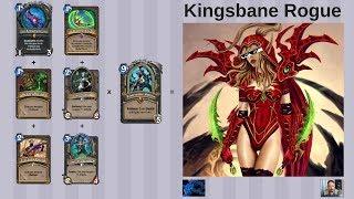 Hearthstone - Kingsbane Rogue vs. Big Priest