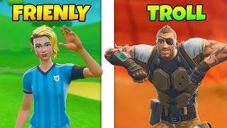Friendly Player Vs. Troll
