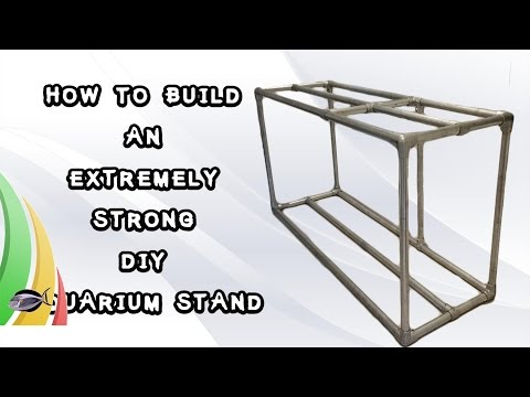 How To Build An Extremely Strong DIY Aquarium Stand | 420 Gallon Reef Aka The Wife Build