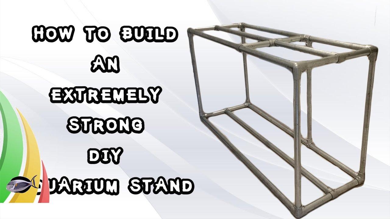Diy metal fish tank stand