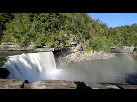 Cumberland Falls, Kentucky - An Aerial Perspective