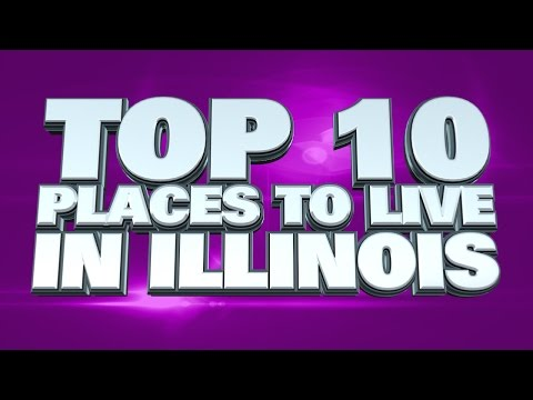 10 best places to live in Illinois 2014
