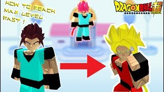 [UPDATE] HOW TO REACH MAX LEVEL FAST IN DBS3 | ROBLOX