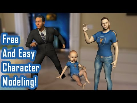 Free 3D Character Modeling with Make Human - PhilNolan3D
