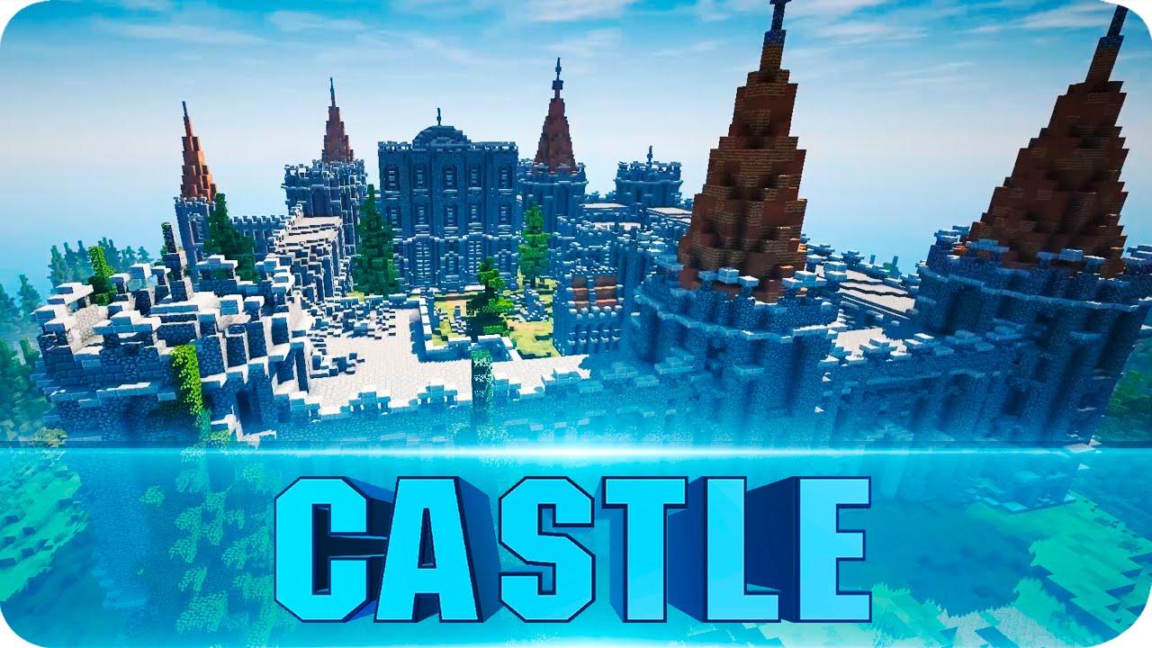 Minecraft - Abandoned Medieval Castle Cinematics - Epic Castle Map   W Download