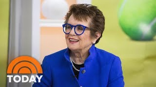Billie Jean King On 'Battle Of The Sexes': Bobby Riggs 'Was One Of My Heroes' | TODAY