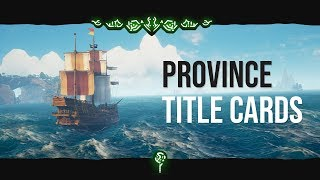 Province Titles in Unity