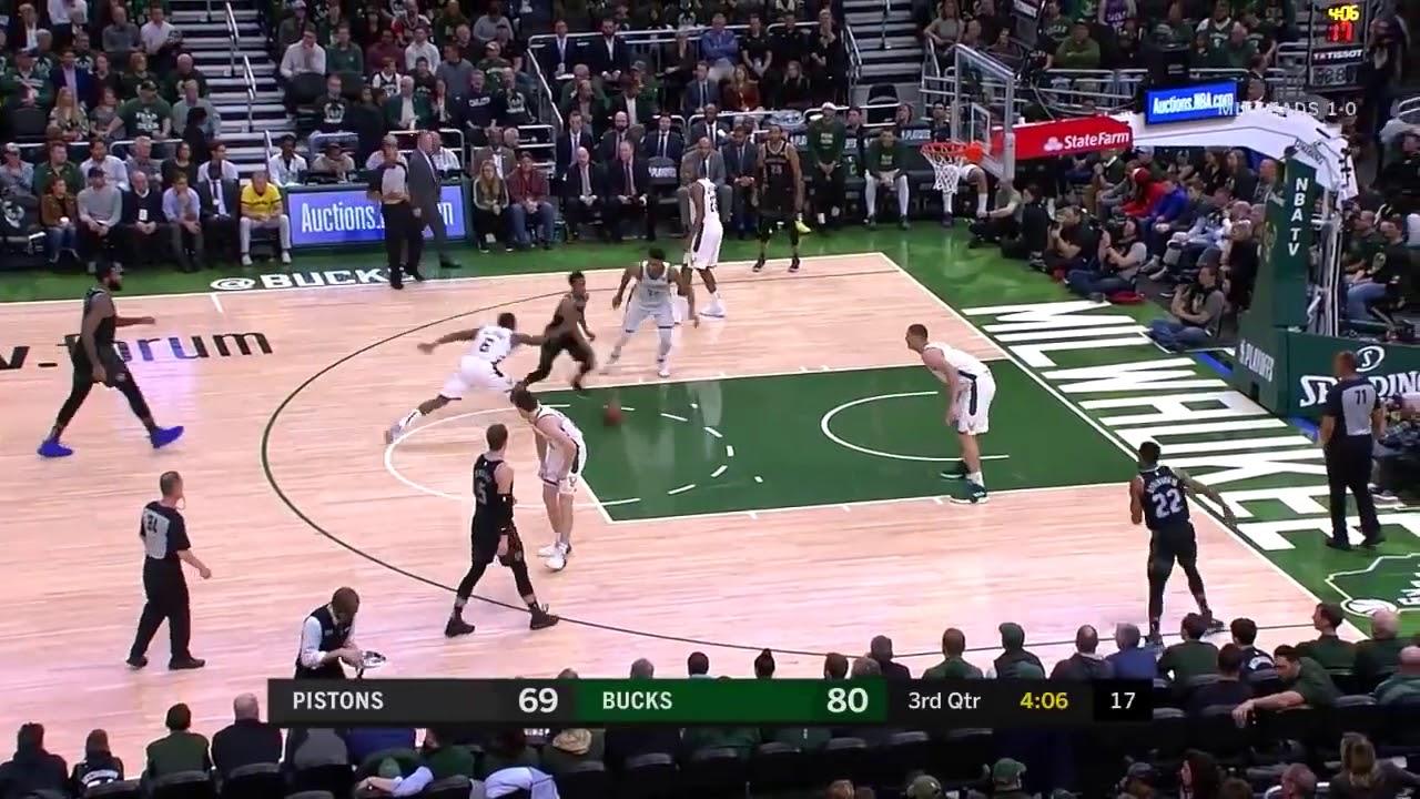 NBA Playoffs 2019: Giannis Antetokounmpo es el jugador de la noche
