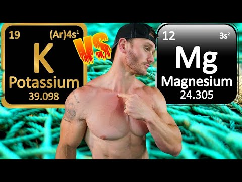 Potassium Deficiency vs. Magnesium Deficiency - How to FEEL the Difference