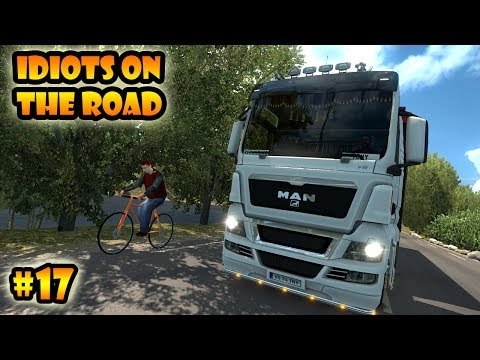 ★ IDIOTS on the road #17 - ETS2MP | Funny moments - Euro Truck Simulator 2 Multiplayer
