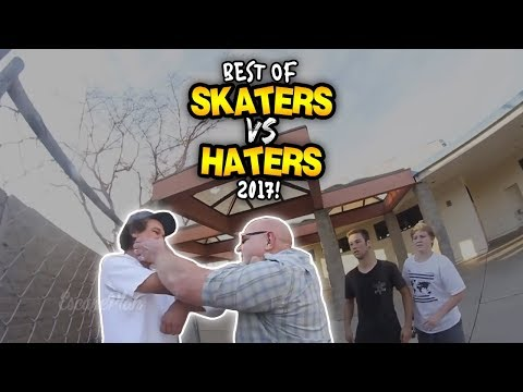 """BEST OF """"SKATERS VS. HATERS"""" 2017!"""