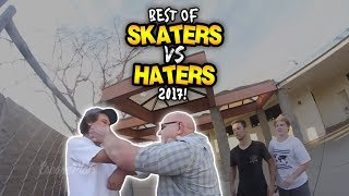 "BEST OF ""SKATERS VS. HATERS"" 2017!"