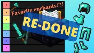YouTube Comments Rank All Minecraft Enchantments! (Tier List)