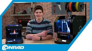 3D Drucker Vergleich & RF100 Gewinnspiel - Tekkie Hacks | Conrad