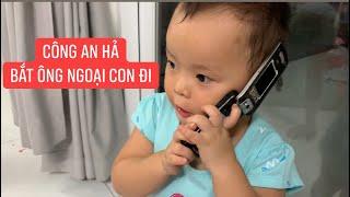 Con gái rượu Khương Dừa gọi điện công an bắt ông ngoại vì tội xem đánh bài