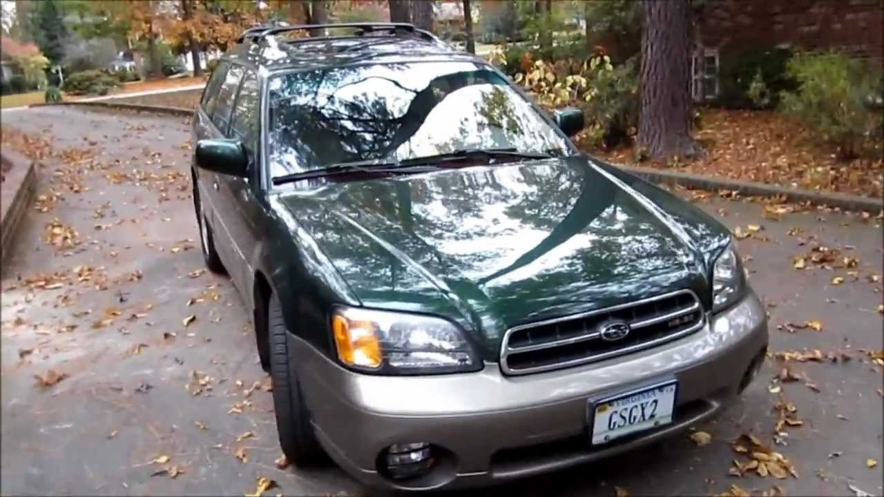 2002 subaru outback ll bean edition h6 3 0 start up and. Black Bedroom Furniture Sets. Home Design Ideas