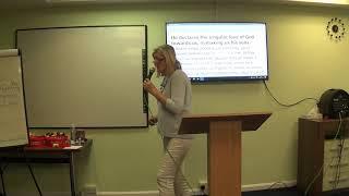 1во Послание на Йоан - урок 2ри, п-р Джина Прат, църква ''Алфа и Омега''