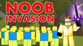 Noob Invasion Official Gameplay Trailer - Roblox