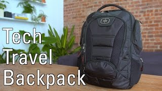 What's in my Tech Travel Backpack 2.0!