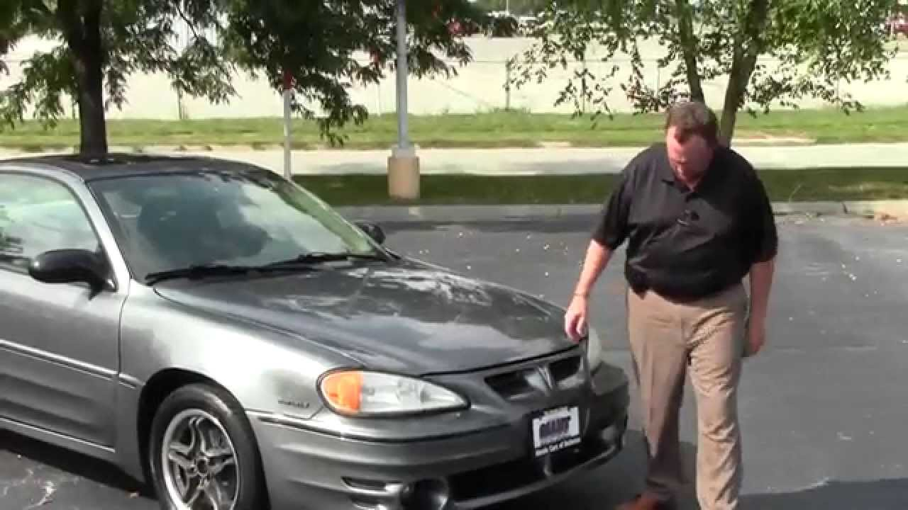 used 2005 pontiac grand am gt for sale at honda cars of bellevue an omaha honda dealer  [ 1280 x 720 Pixel ]