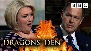 Peter Jones RUTHLESSLY undercuts Dragon newbie's first ever offer 🐉 😲🔥 | Dragons' Den - BBC
