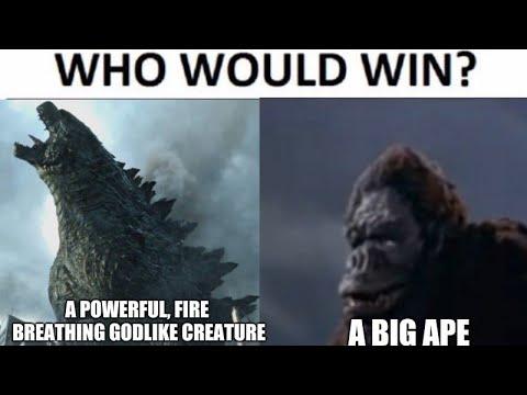 Godzilla Vs Kong Memes Youtube