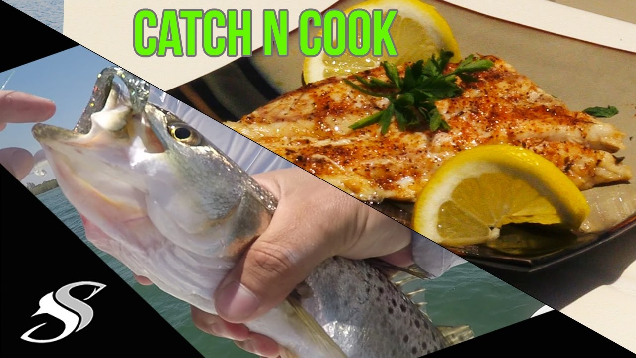 Catch cook fresh fish trout fishing youtube for Catch and cook fish