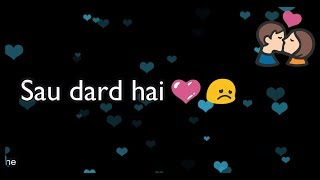 Download Sau Dard Hai ❤ || ❤ Salman Khan ❤ || Old : Sad 😞 : Love ❤ WhatsApp Status  2017 😊 MP3 song and Music Video