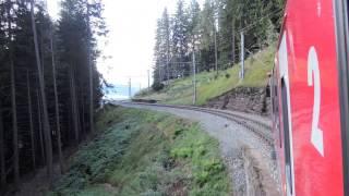 Berninabahn - die schönste Alpenüberquerung