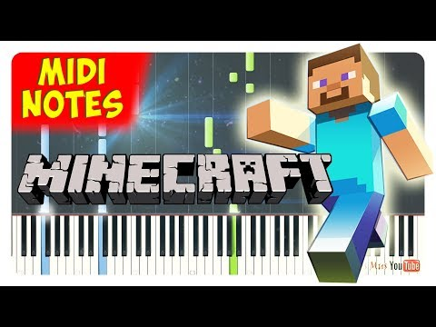 Minecraft - Take Back the Night Piano Tutorial (Piano Sheets + midi)
