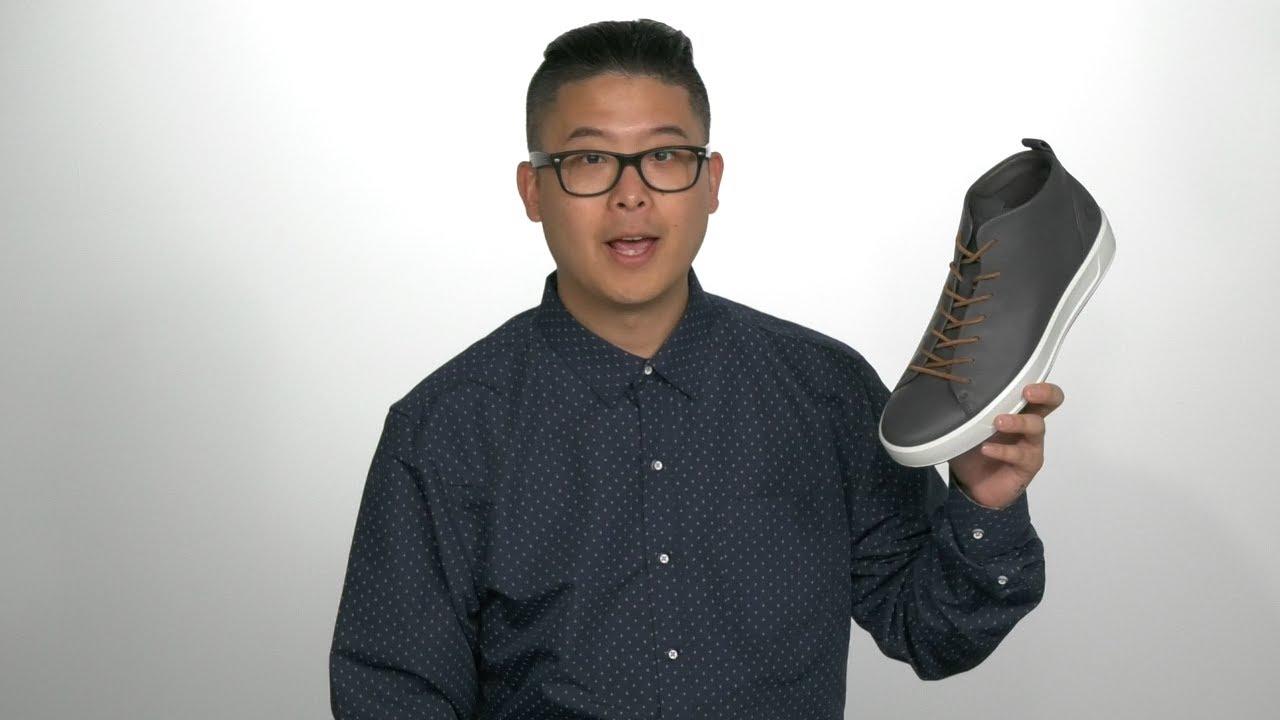 ECCO Soft 8 Dritan™ Mid Cut Sneaker