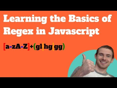 Learning the Basics of Regex in Javascript