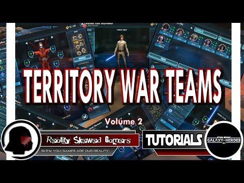 RSG Reviews Territory War Teams Vol. 2 | Star Wars: Galaxy of Heroes #swgoh