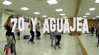 Сальса фигура — 70 (setenta) y aguajea | Школа сальсы A4G Dance Studio