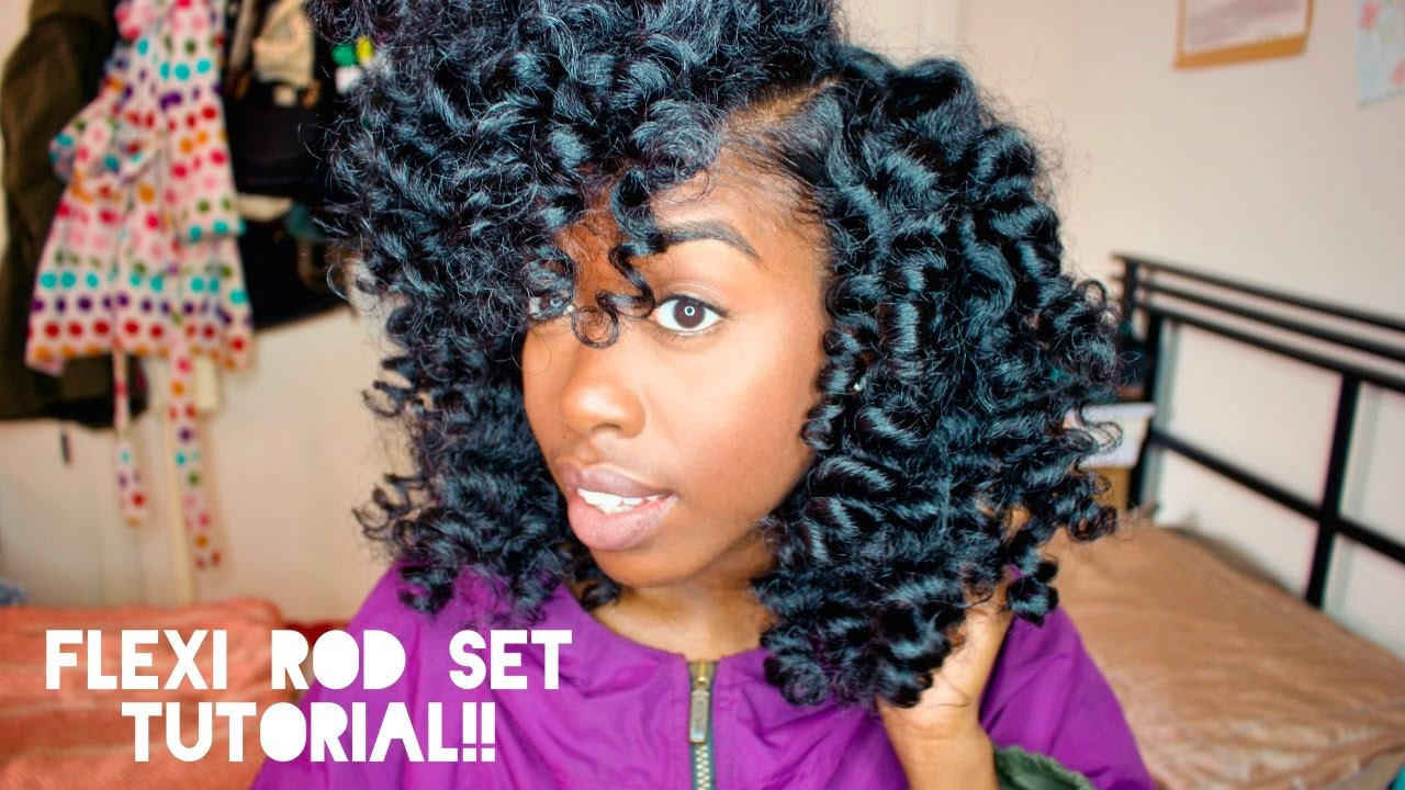 Perm Rods Vs Flexi Rods On Natural Hair