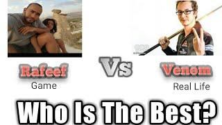 Who Is The Best?    Rafeef    Venom    Trickshots    8 Ball Pool    Meta 8bp