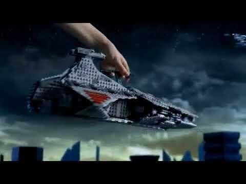 Lego 8016 Hyena Droid Bomber Lego 8039 Venator Class Republic