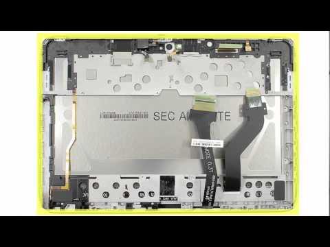 Cracking Open - Samsung Galaxy Note 10.1