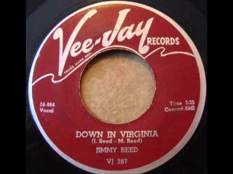 JIMMY REED   Down In Virginia   SEP