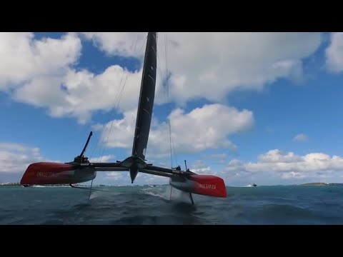 DJI - Chasing the America's Cup