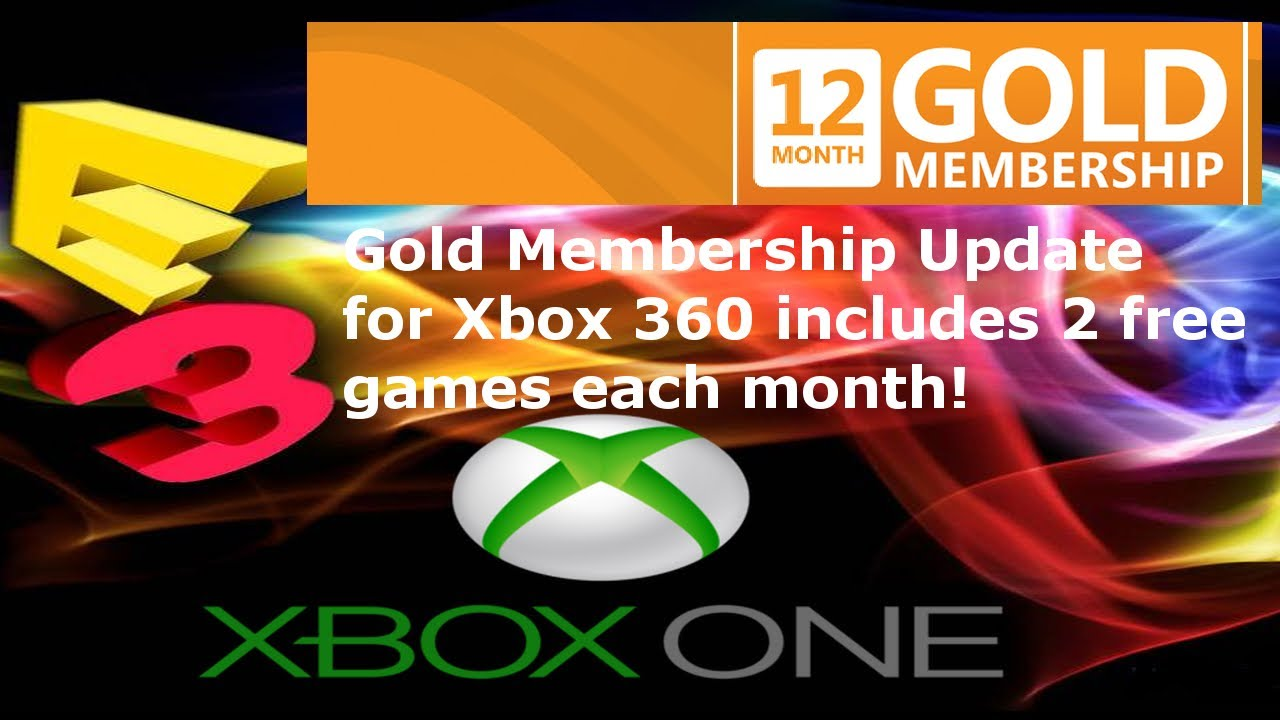 E3 2013 Gold Membership Update For Xbox 360 Includes 2