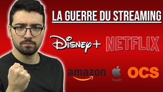 DISNEY+, NETFLIX, AMAZON, APPLE, OCS: la guerre du streaming a commencé !