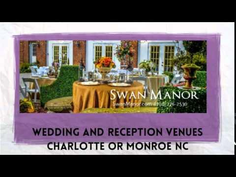 Swan Manor Wedding Venues Monroe NC