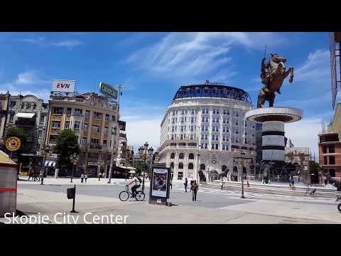 Skopje City Centre 2017
