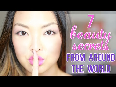 7 Beauty Secrets From Around The World!