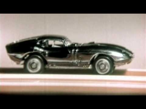Aurora Stunt And Drag Race Car Set Commerical: Late 60's TV