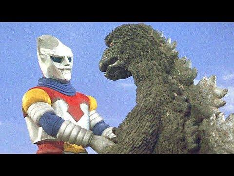 【吐嚎】山寨奥特曼组队哥斯拉大战2大外星怪兽