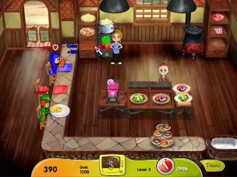 Cooking Dash: Dinertown Studios Level 1 ~ 5