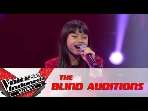 """Indira """"Try Everything""""   The Blind Auditions   The Voice Kids Indonesia Season 2 GTV 2017"""