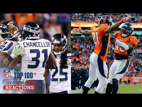 Better Secondary: Legion of Boom or No Fly Zone? | Top 100 Players of 2016 Reaction | NFL